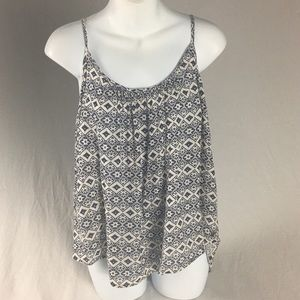 ROXY SMALL PEASANT BLOUSE NWOT